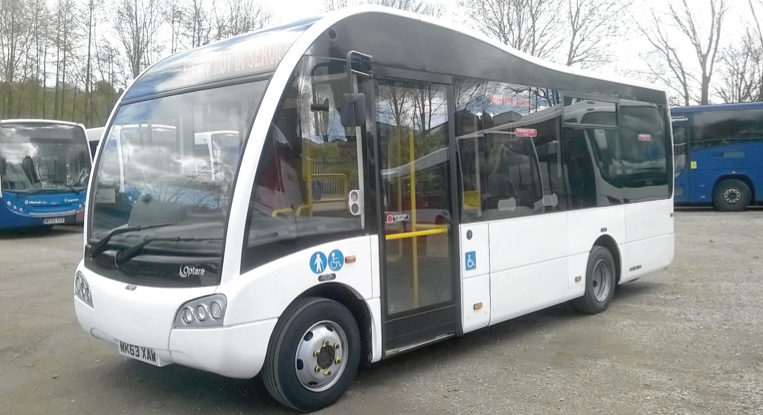 Own a 7.2m Optare Solo for just £1499 per month!