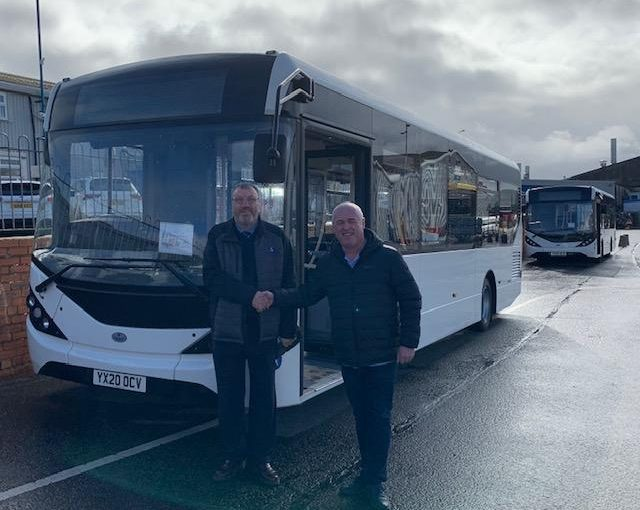 Successful Delivery of Enviro200 Buses to Bay Travel