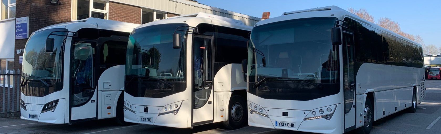 Short Term Coach Rental For Scottish National Blood Transfusion Service